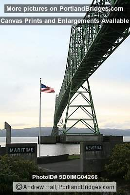 Astoria-Megler Bridge and the Maritime Memorial