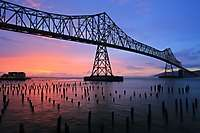 Astoria-Megler Bridge Sunset <i>(16 images) - shot on 03/31/2006</i>