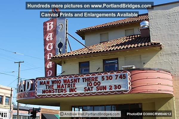 Bagdad Theatre, SE Hawthorne Blvd, Portland, March 2002