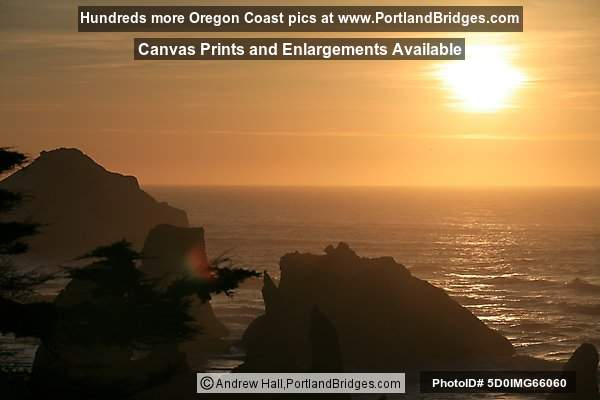 Sunset, Bandon, Oregon Coast