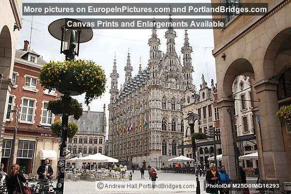 Grote Markt, Town Hall, Leuven, Belgium