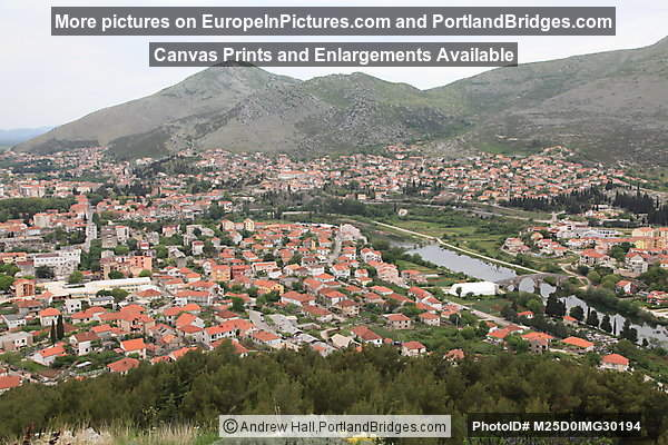 Trebinje View from Crkvina Hill