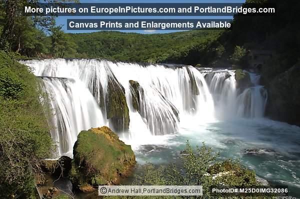 Štrbački buk Waterfall, Una National Park, Bosnia and Herzegovina