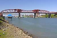 Portland Broadway Bridge Daytime