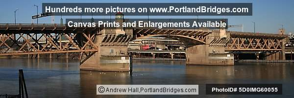 Burnside Bridge Panorama (Portland, OR)