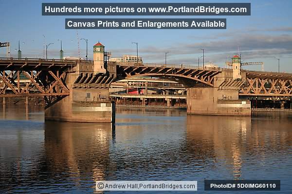 Burnside Bridge, Late Afternoon (Portland, OR)