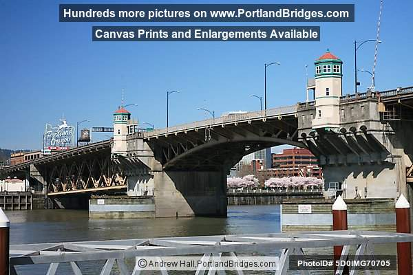 Burnside Bridge, Portland, Oregon Sign