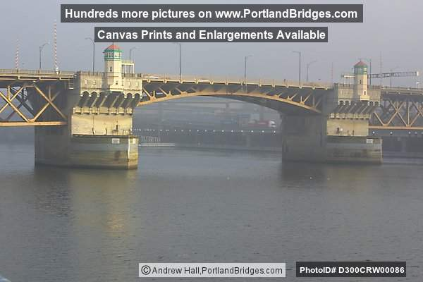Burnside Bridge, Daybreak (Portland, Oregon)