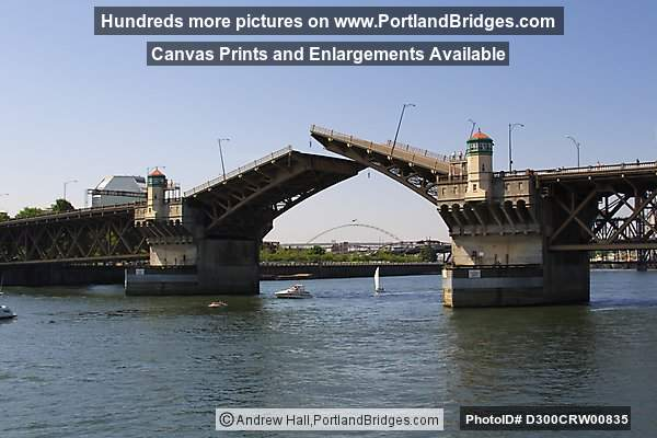 Burnside Bridge, Raised (Portland, Oregon)