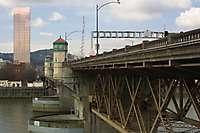 Portland Burnside Bridge Daytime