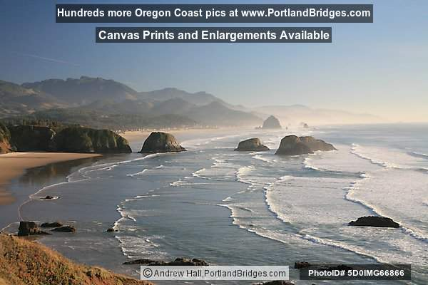 Cannon Beach, from Ecola State Park