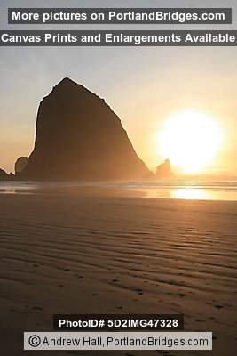 Cannon Beach, Oregon, Sunset