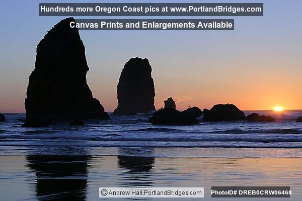 Cannon Beach, Oregon, Sunset (Portland, Oregon)