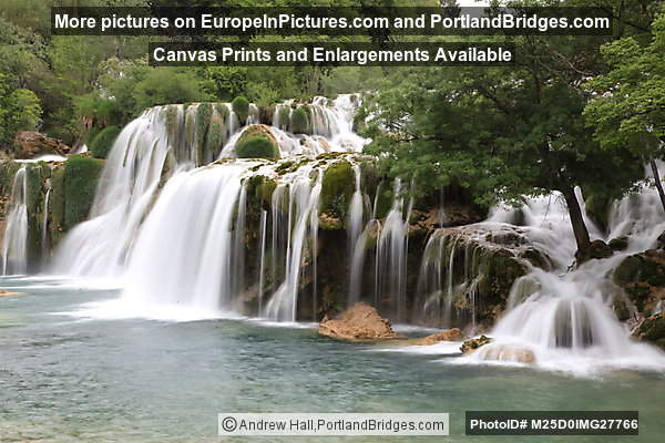 Skradinski Buk Waterfalls, Krka National Park, Croatia