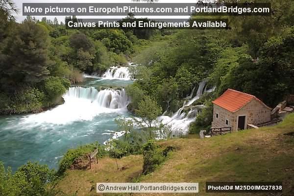 Skradinski Buk Waterfall, Krka National Park, Croatia