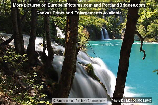 Waterfall, Plitvice Lakes National Park