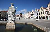 Old Town Square, Telc, Czech Republic