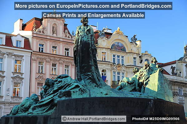 Jan Hus Monument, Old Town Squarec, Prague