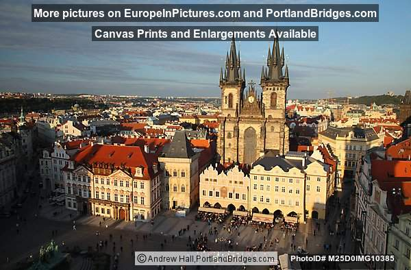 Tyn Church, Old Town Square, Prague, Czech Republic