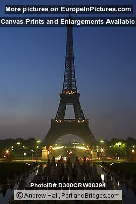 Eiffel Tower, Paris, Daybreak