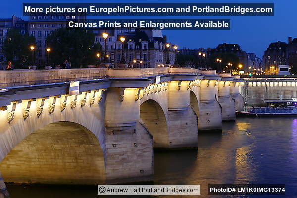 Pont Neuf, Night, Paris