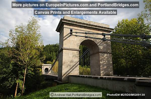 Stadlecky Bridge (Chain Bridge) , Czech Republic