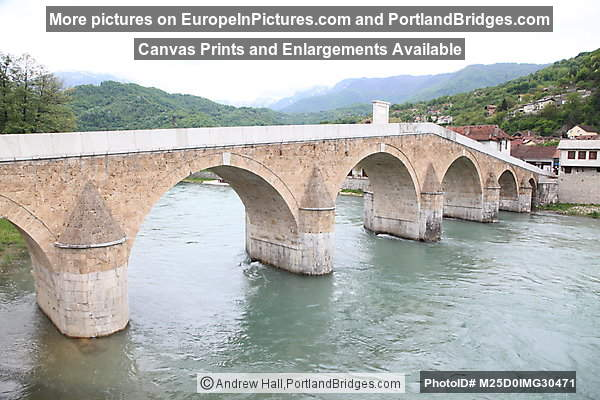 Old Stone Bridge, Konjic, Bosnia and Herzegovina