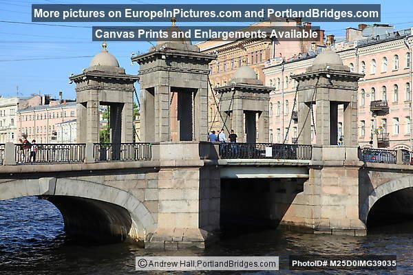 Lomonosov Bridge, St. Petersburg