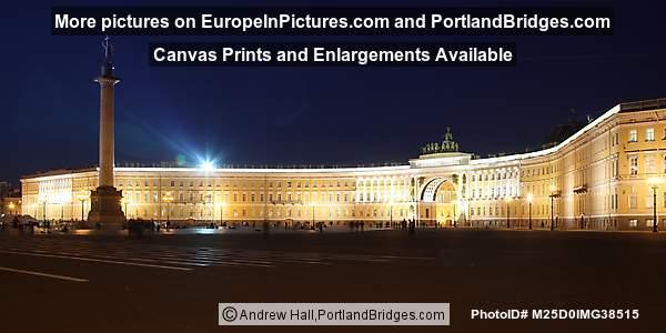 General Staff Building, Night, St. Petersburg