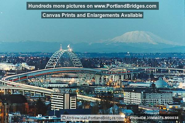 Fremont Bridge, Mt. Saint Helens