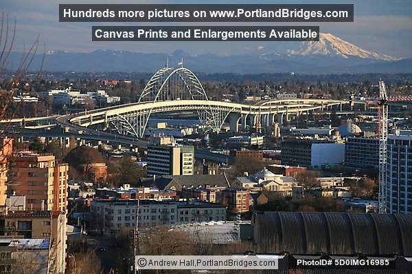 Fremont Bridge, Mt. St. Helens (Portland, Oregon)