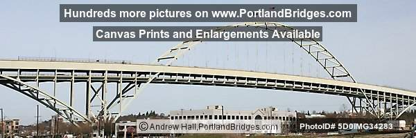 Fremont Bridge, Daytime (Portland, Oregon)