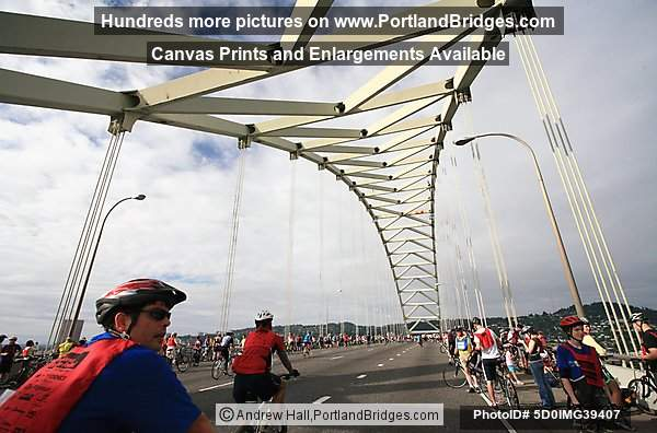 Bridge Pedal 2008, Fremont Bridge (Portland, Oregon)