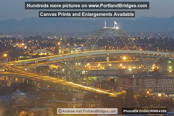 Fremont Bridge, Daybreak