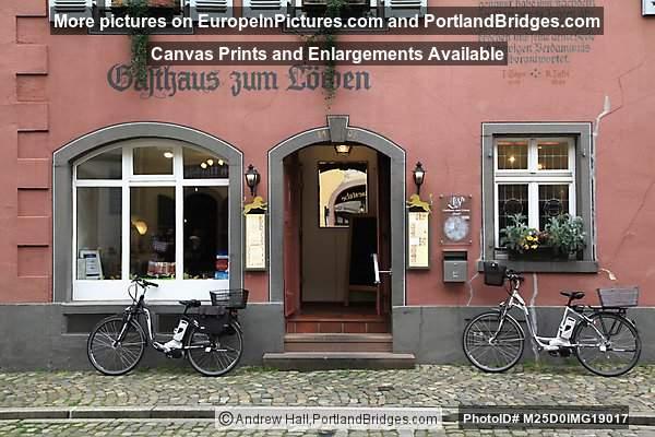 Staufen Streets, Bikes, Black Forest, Germany