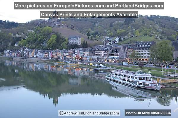 Cochem, Mosel River Reflection