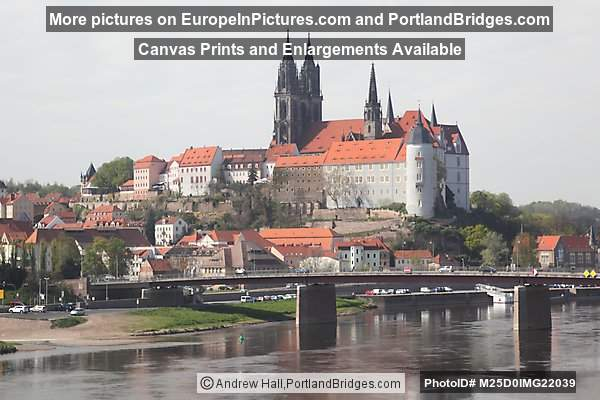 Albrechtsburg and Cathedral, Meissen, Saxony, Germany