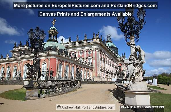 Sanssouci Palace, Potsdam Germany