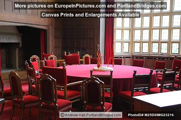 Big Three Conference Table From Potsdam Conference Cecilienhof - Big conference table