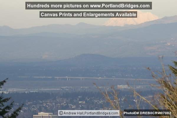 From Council Crest: Mt. Adams in the background (Portland, Oregon)