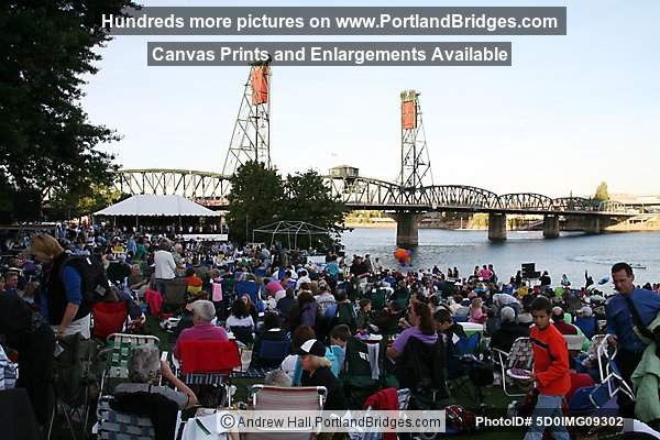 Portland Waterfront, Oregon Sympony Concert