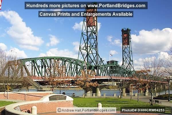 Hawthorne Bridge, Waterfront Park, Daytime (Portland, Oregon)