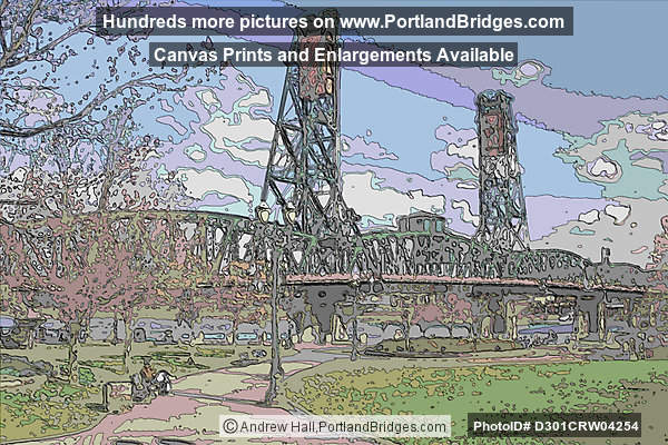 Hawthorne Bridge Art (Portland, Oregon)