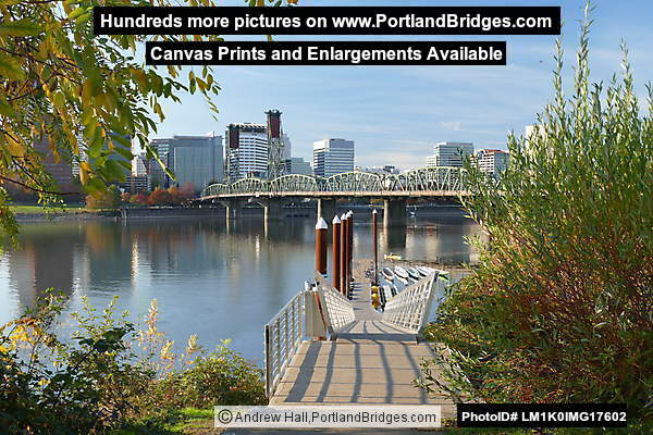 Hawthorne Bridge, Holman Dock, Eastbank Esplanade (Portland, Oregon)