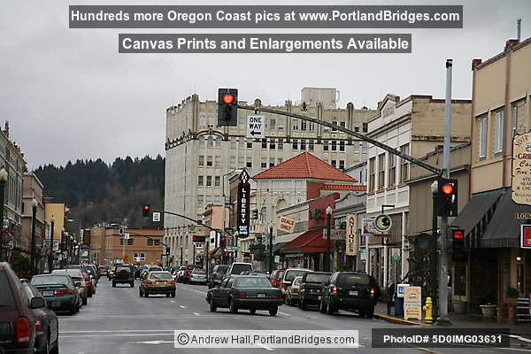 Downtown Astoria, Oregon