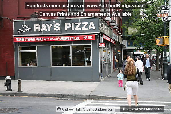 The Famous Ray's Pizza, Greenwich Village, New York City