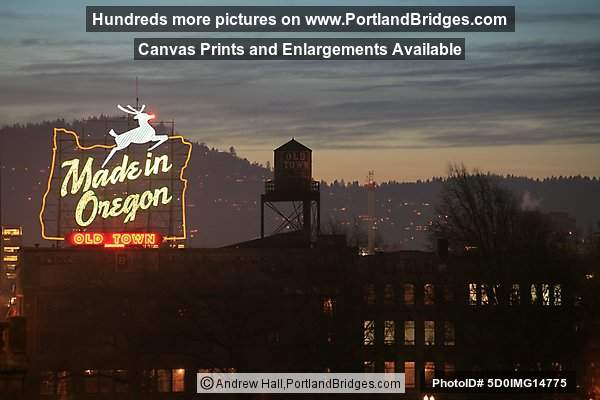 Former Made in Oregon Sign