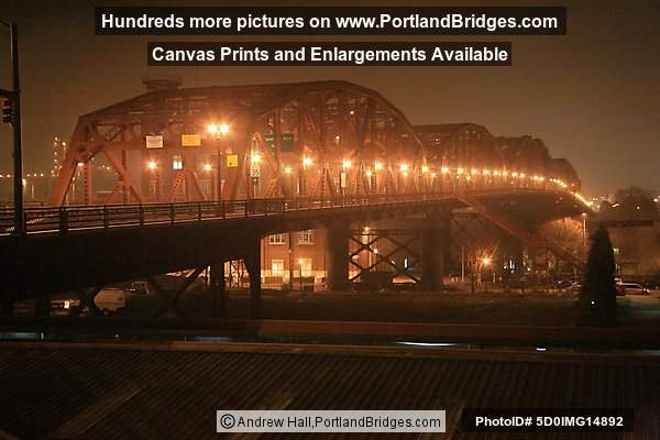 Broadway Bridge, Night (Portland, Oregon)