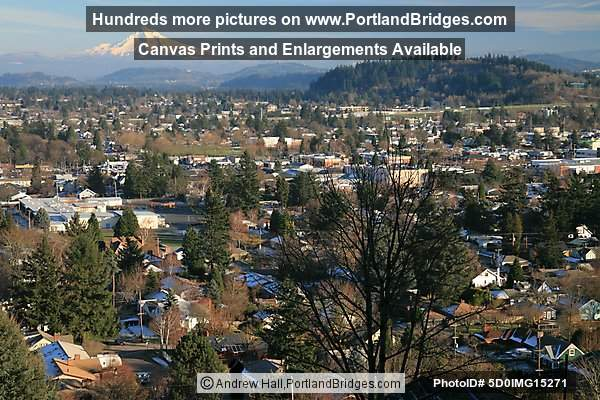 East Portland, Mt. Hood from Mt. Tabor
