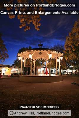 Albuquerque Old Town Plaza at Dusk